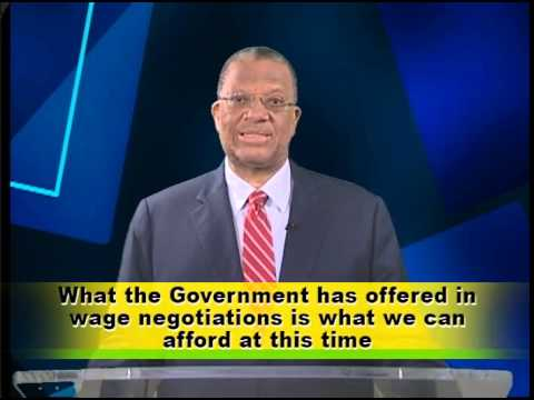 Broadcast To The Nation Dr the Hon Peter Phillips