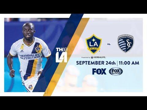 Video: TEASER: LA Galaxy vs. Sporting Kansas City | September 24th, 2017