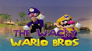 The Wacky Wario bros: Waluigi Origins