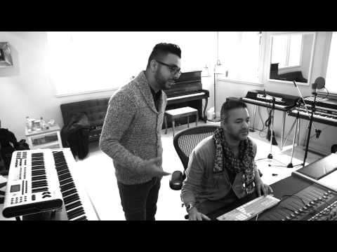 "RedOne & Chawki - In the Studio ""Stockholm"" Ana Bahwak Teaser"