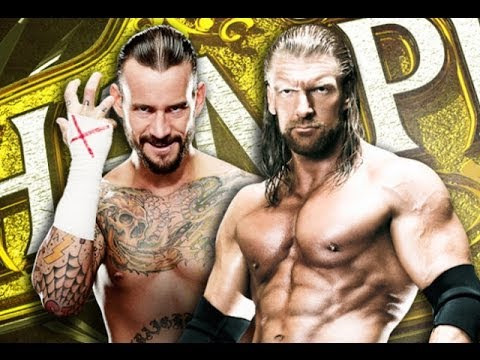 WWE - CM Punk vs. Triple H Night Of Champions 2011 - Highlights [HD]