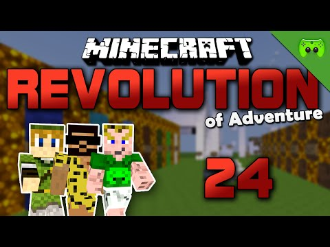 MINECRAFT Adventure Map # 24 - Revolution of Adventure «» Let's Play Minecraft Together | HD