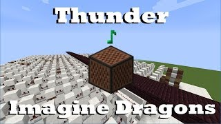 Video Thunder - Imagine Dragons - Minecraft Note Blocks MP3, 3GP, MP4, WEBM, AVI, FLV Januari 2018