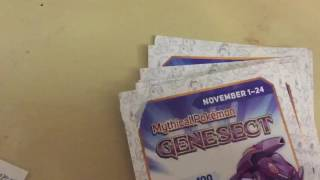 Here are 10 Genesect codes! Remember: Code only works once, First come first serve. Please if you have redeemed a code already, please give the chance to redeem to others. if you are new to our channel, please give a comment below and subscribe for a chance to win these codes. We will add your friend code; here are ours below:1092-1871-0071 JustBird3712-1133-8578 JoyHey all! for Pokemon Sun and Moon: here is a link for QR codes to use https://imgur.com/a/EFOqsENJOY! and happy gaming!!