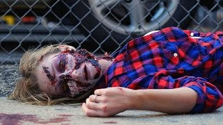 This Zombie Homicide Prank Scares The Sh*t Out Of Passersby