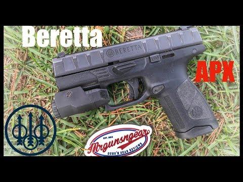 How To Clean & Lubricate A Beretta APX Pistol  (4K)