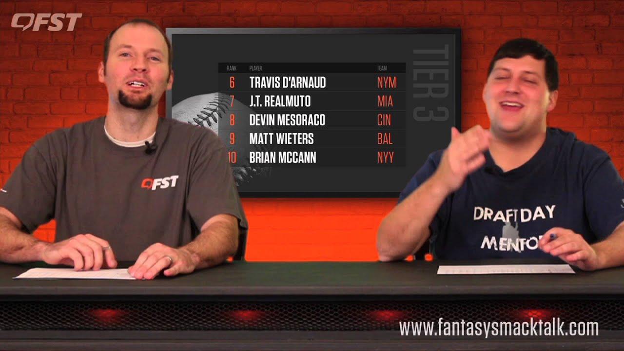 2016 Fantasy Baseball Catcher Rankings thumbnail