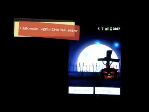 Video of Halloween Live Wallpaper Light