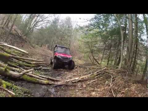 Brute Force & RZR 570 on WV trails