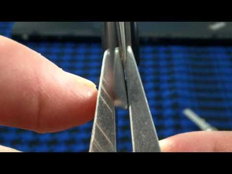 Заточка на Lansky: Закрепление ножа (часть 2)