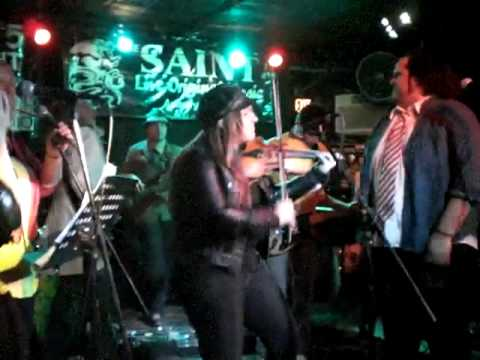 Claudia Pellegrini with Anthony D'Amato at THE SAINT in Asbury Park  (NJ)