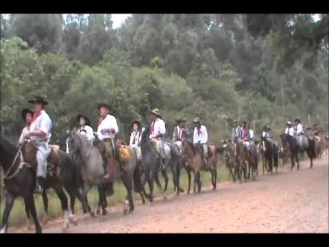 Cavalgada 12º Região Tradicionalista / Nova Santa Rita a Canoas..