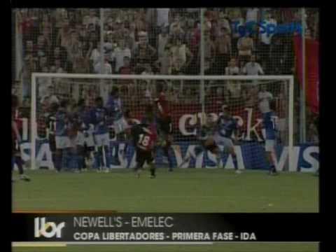 Newell's Old Boys 0 - 0 Emelec (Repesca Copa Libertadores 2010)