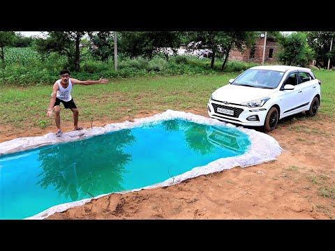 Driving Our Car Underwater   गाडी को पानी में कभी मत डुबाना   Khel Khatam