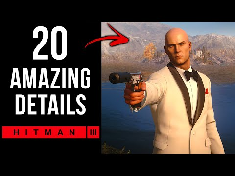20 AMAZING Details in The HITMAN Trilogy