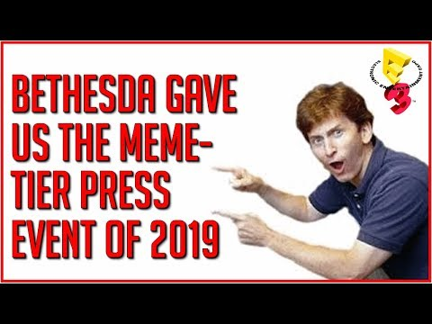 The Bethesda E3 2019 Press Conference Fills the Void Left by EA
