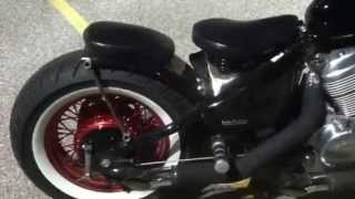6. Bobber Honda shadow vlx 600 springer seat review