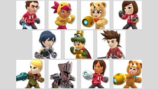 Mii Fighters Suit Up for Wave Three
