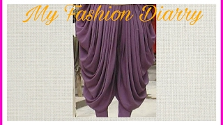 Download Lagu DHOTI SALWAR WITH FULL PLEATS ,drafting,pattern,cutting, stitching Mp3