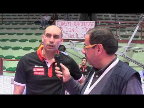 Forlì – UYBA: interviste a Carlo Parisi e Serena Ortolani