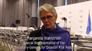UNISDR's Margareta Wahlström on the Nitty-gritty of Disaster Risk Reduction
