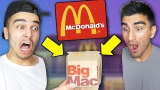 Video We ONLY Ate MCDONALDS for 24 HOURS and Found THIS In Our Burger! (IMPOSSIBLE CHALLENGE) MP3, 3GP, MP4, WEBM, AVI, FLV April 2018