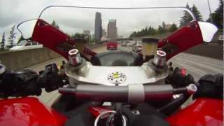 6. Trip to Seattle on my 2011 Ducati 1198 Superbike.