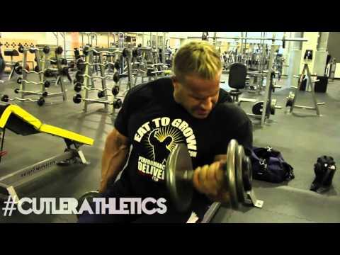 Antrenament Spate - Biceps Jay Cutler