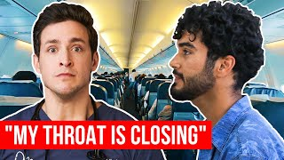 Video Airplane Medical Emergency | WE COULDN'T LAND! | Wednesday Checkup MP3, 3GP, MP4, WEBM, AVI, FLV September 2019