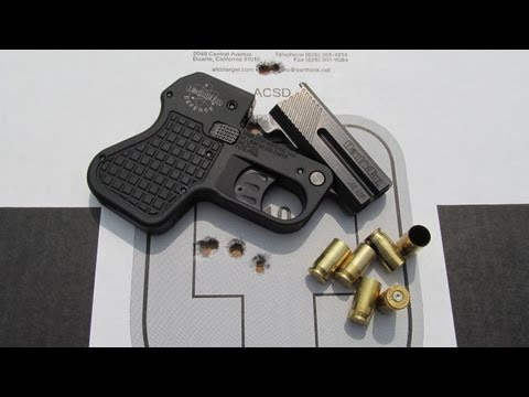 DoubleTap 45 Auto Tactical Pocket Pistol Review Part 2 - Range Work