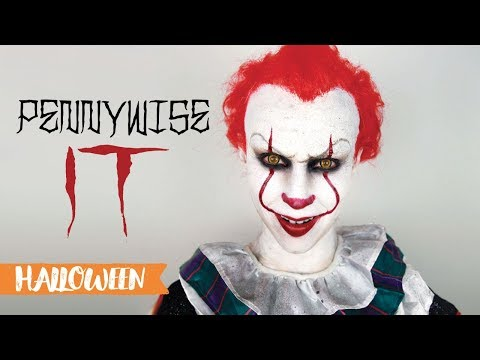Maquillage d'Halloween : Pennywise (It/Ça 2017)