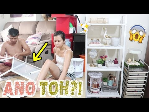 BAGONG FURNITURE PARA SA KWARTO! + General Cleaning Tayo!! ♥ | Chinkytita
