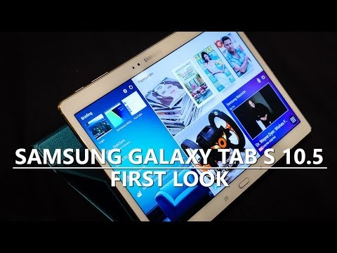 tab - The larger flagship tablet also introduces the biggest AMOLED screen available. Josh looks at the Samsung Galaxy Tab S 10.5 Talk about Android in our forums:...