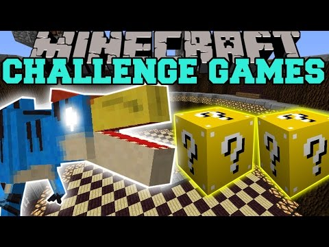 Minecraft: VELOCIPREY CHALLENGE GAMES - Lucky Block Mod - Modded Mini-Game