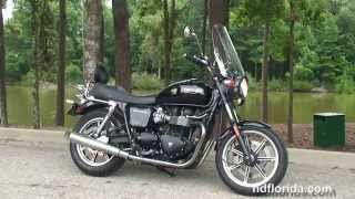 9. Used 2009 Triumph Bonneville Motorcycles for sale Florida USA