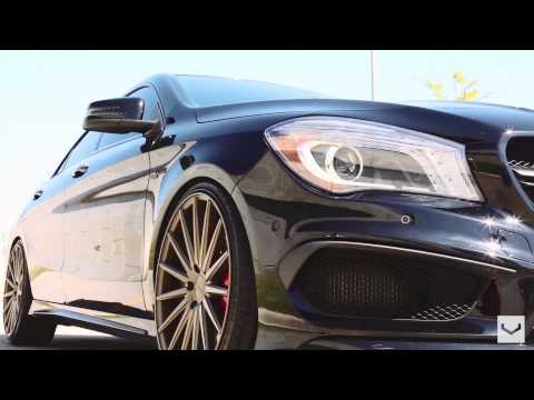 Mercedes Benz CLA 45 AMG   Vossen VFS2 20'' Wheels