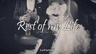 Rest of my Life, Bruno Mars   Letra Eng y Esp