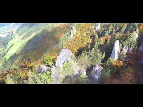 Súľov - Hradná Drone Video