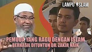 Video PEMUDA YANG RAGU dengan ISLAM BERHASIL Dituntun Dr. Zakir Naik MP3, 3GP, MP4, WEBM, AVI, FLV Oktober 2017