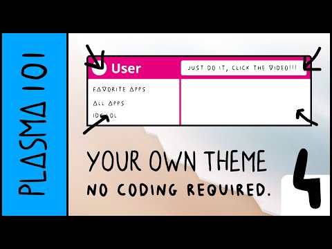 Create a KDE Plasma Theme with No Code! Part 4