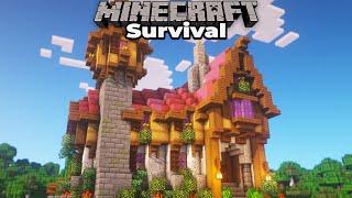 20+ Hours of MAJOR progress in my Minecraft 1.15 Survival World Village And Terraforming