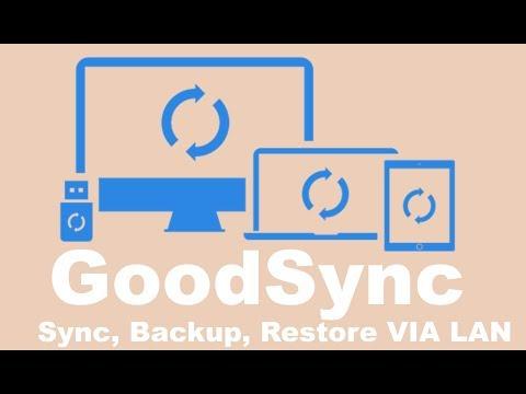 GoodSync Backup synchronization