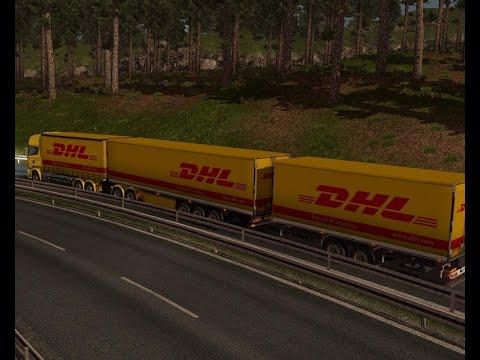 Scania DHL GIGAGIGALINER
