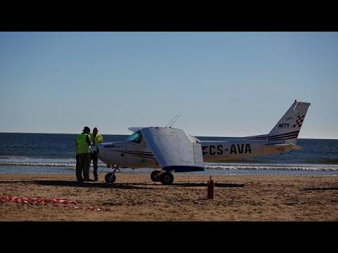 Πορτογαλία: Δύο νεκροί από αναγκαστική προσγείωση σε παραλία!