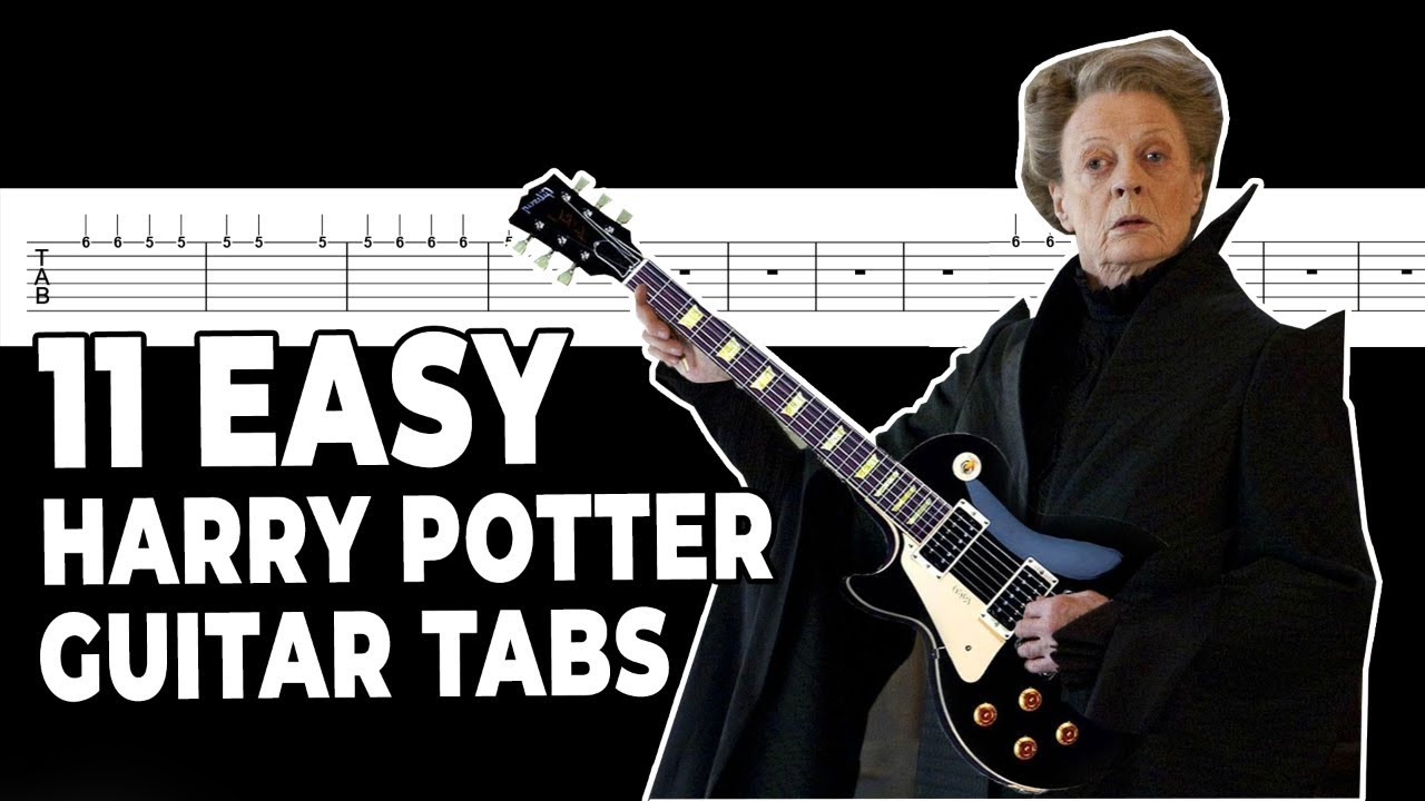 11 Easy Guitar Tabs for Harry Potter songs