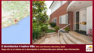 Sant Just Desvern Spain  City new picture : 5 dormitorios 4 baños Villa se Vende en Sant Just Desvern, Barcelona, Spain