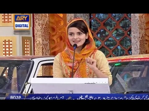 [Funny Speech] Topic Nazuk Surte Haal Hai  – ARY Digital