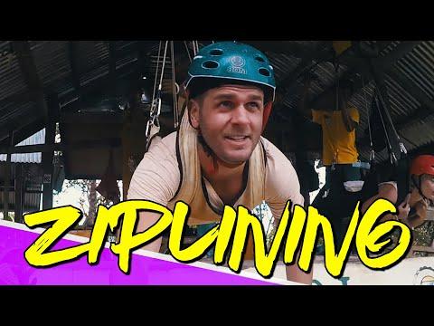 ZIPLINING ADVENTURE (BOHOL, PHILIPPINES)