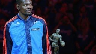 Kevin Durant's MVP Presentation