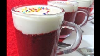 Red Velvet Nutella Mug Cake recipe translate in Tamil